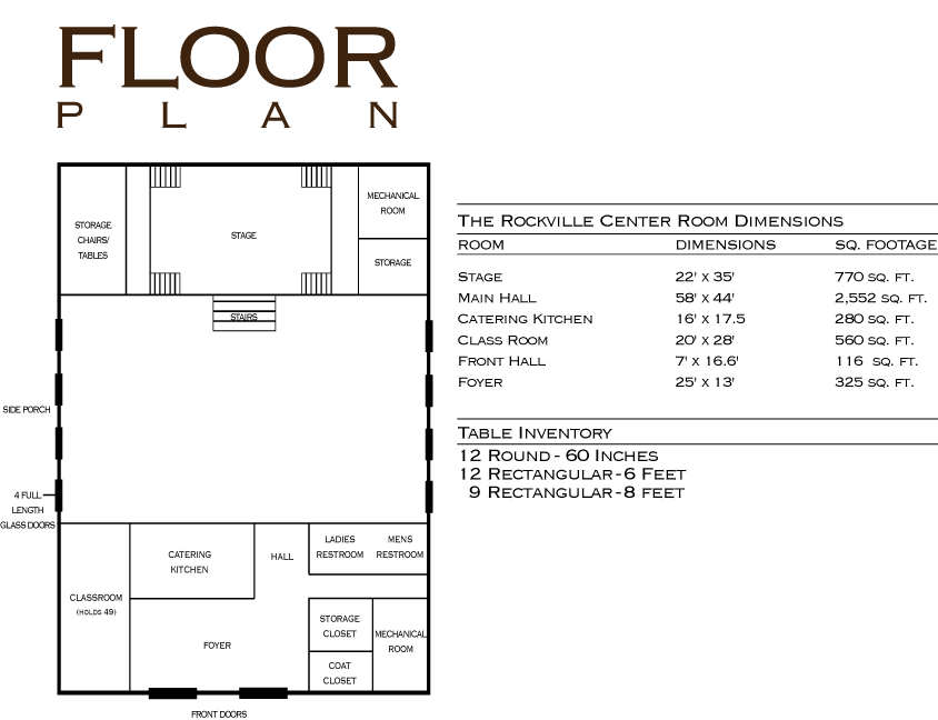 Rockville Floorplan